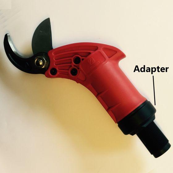 Adapter für pneumatische schere