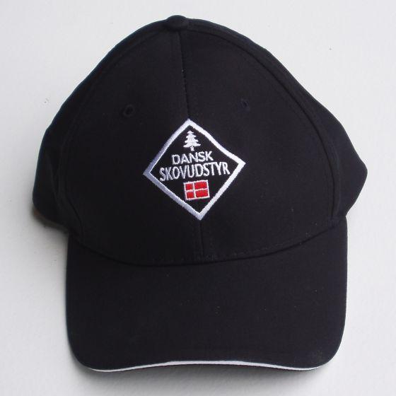 Cap mit Logo Schwarz