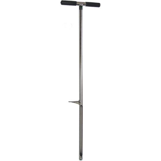 Bodentest live / Speer mit Fußpedal 102 cm.