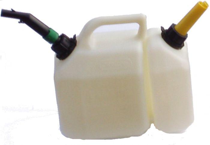 Kombi Klarsichtkanister 2,5 + 6 Liter