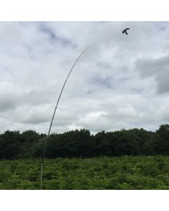 Hawk Vogelscheuche Drachen mit 10 meter lange Teleskop 20m/s