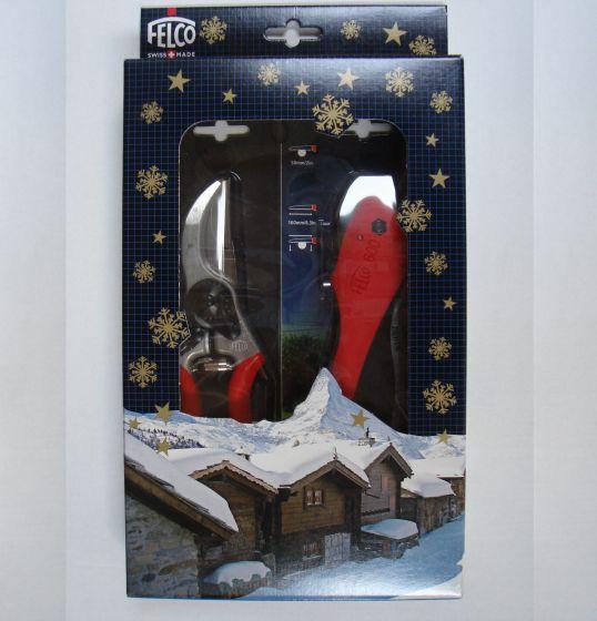 Felco 6 und FELCO 600 Klappsäge in Geschenkbox.