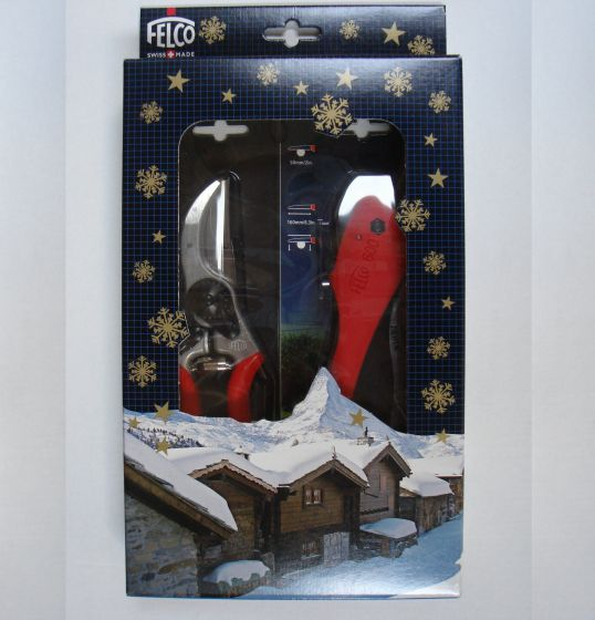 FELCO 2 und FELCO 600 Klappsäge in Geschenkbox.