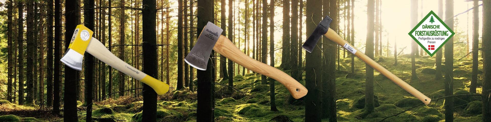 Dänische Forstausrüstung